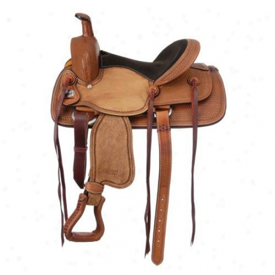 Royal King Dalton Youth Roper Saddle