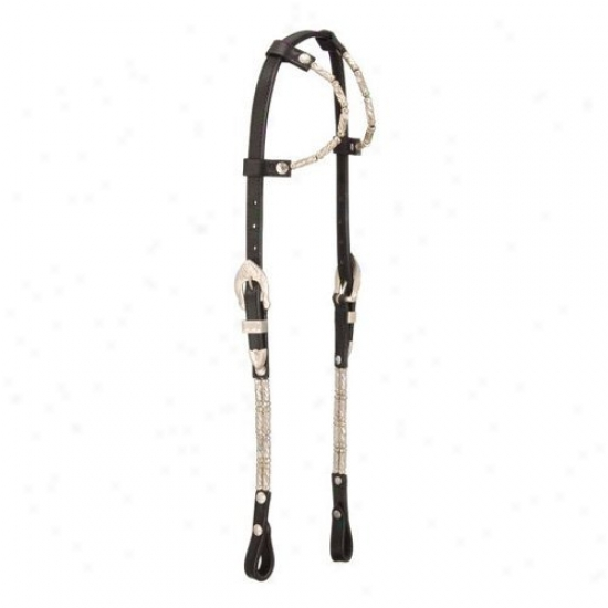 Royal King Ferruled Double Spike Show Headstall
