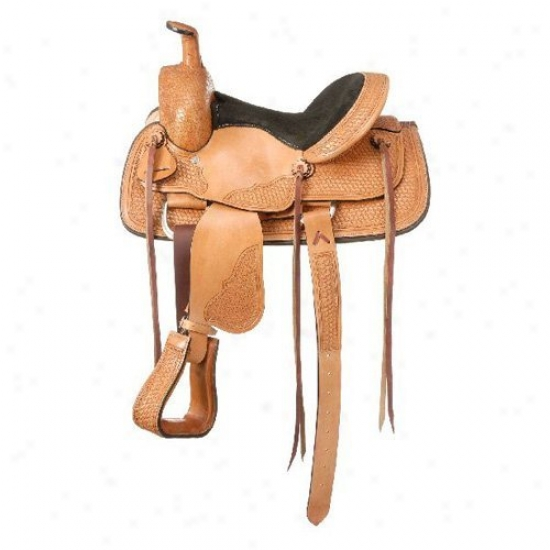 R0yal King Frisco Youth Roper Saddle
