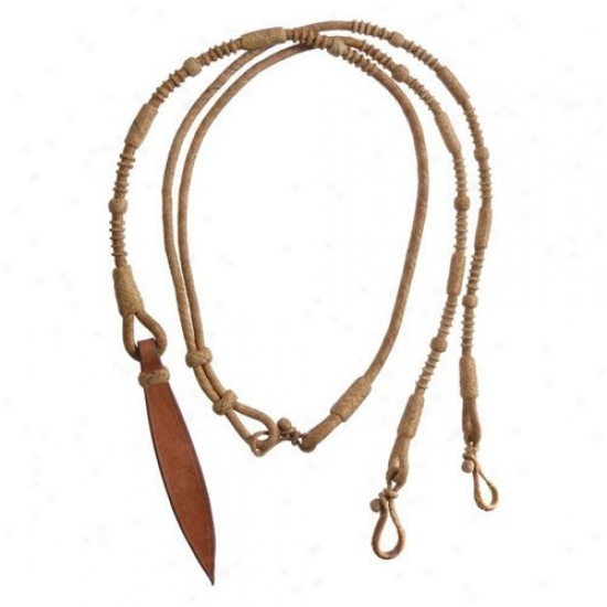 Royal King Rawhide Braided Romel Reins
