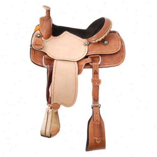 Royal King Riverside Roper Saddle