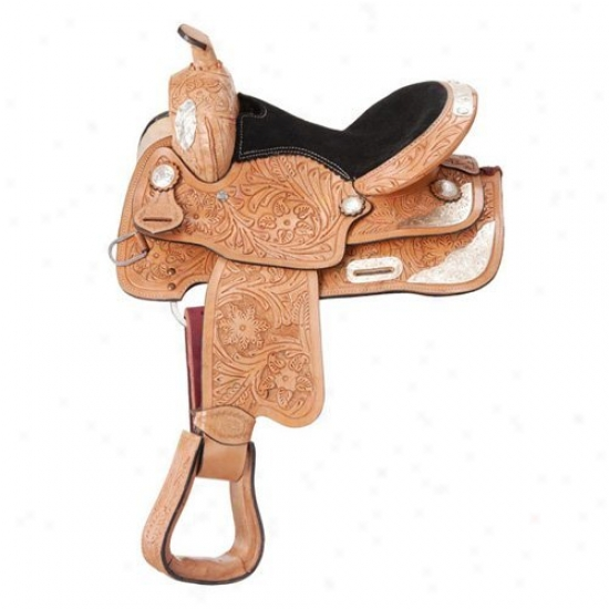 Royal King Santo Silver Show Youth Saddle