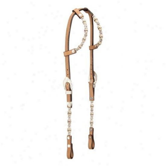 Magnificent King Silver Double Esr Show Headstall