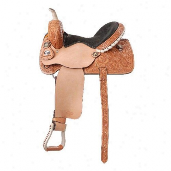 Silver Royql Angus Barrel Saddle
