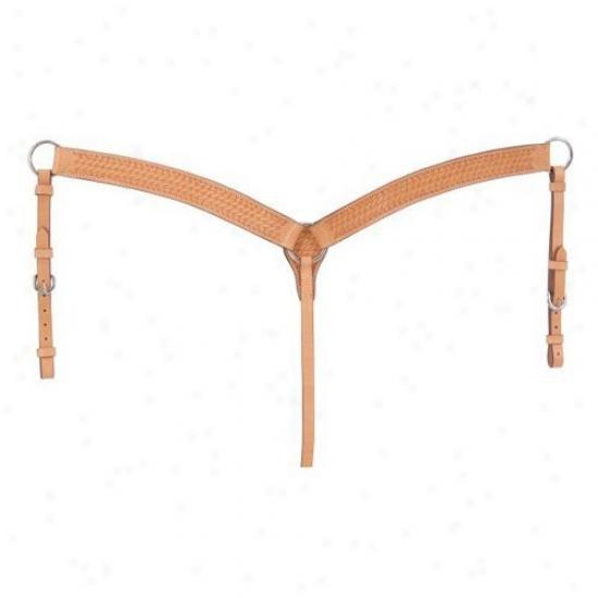 Silver Royal Basket Weave Breast Collar