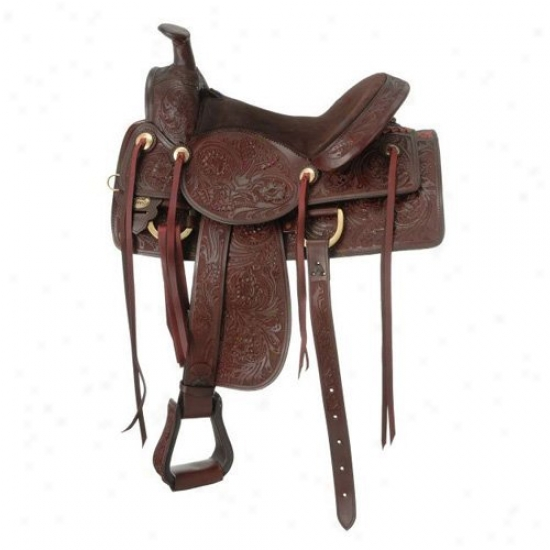 Silver Royal Clayton Ranch And Trail Saddle