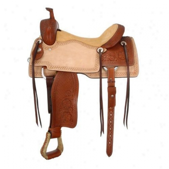 Siover Royal Coyote Cutter Saddle