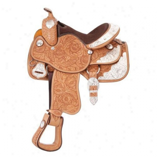 Silver Royal Grand Majestic Show Saddle