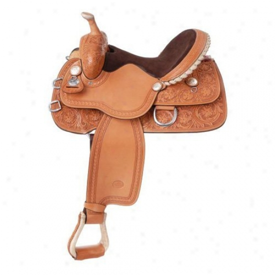 Silver Royal Hawkins Barrel Saddle