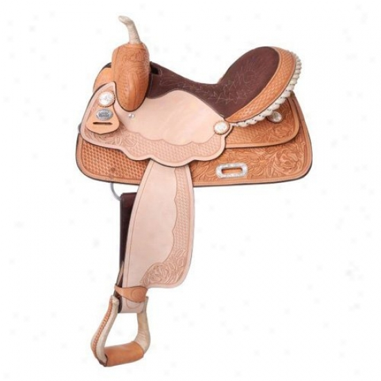 Silv3r Kingly La Mesa Barrel Saddle