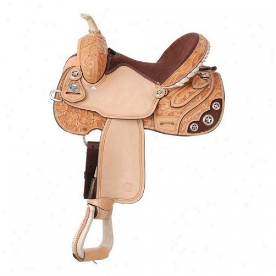 Silver Royal Lamar All Around Barrel Saddle