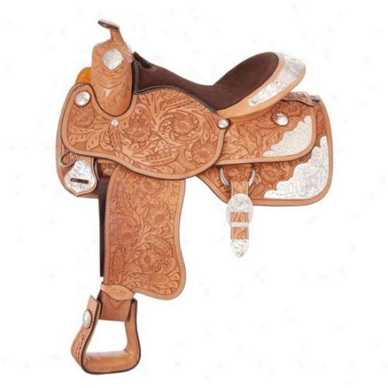 Silver Royal Reward Grand Majestic Silver Show Saddle