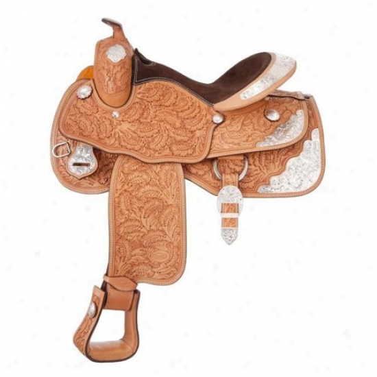 Silver Kingly Premium Royal Oak Show Saddle