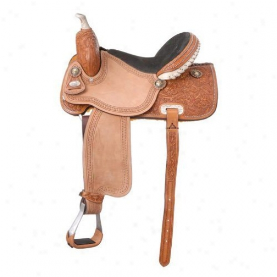 Silver Royal Randall All Aroud Barrel Saddle