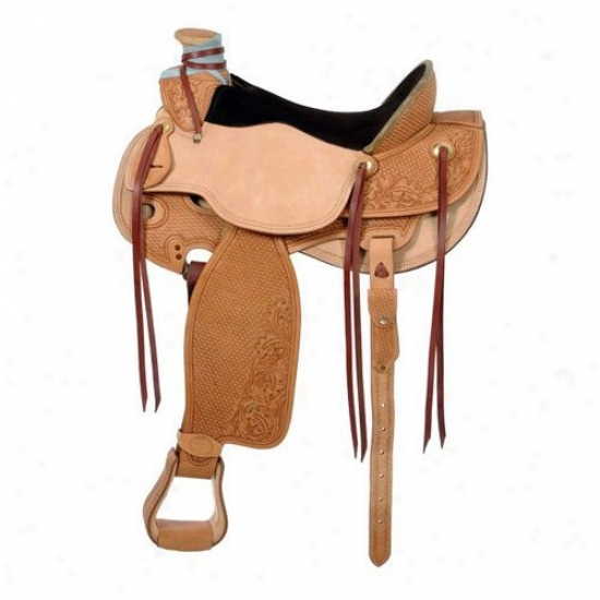 Silvery Royal Wade Pleasufe Saddle