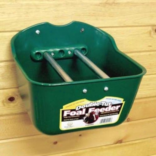 Teisupply 106830 Double Tuf 9-qt. Foal Feeder