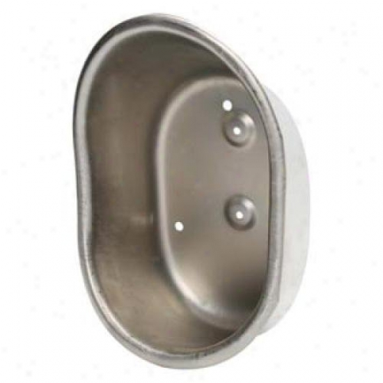 Teksupply 111163 Stainless Steel Finish Water Cup Only - 7 X 11