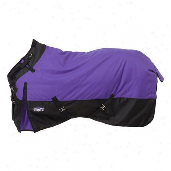 Tough-1 1200d Waterproof Poly Turnout Blanket Upon Adjustable Snuggit Neck