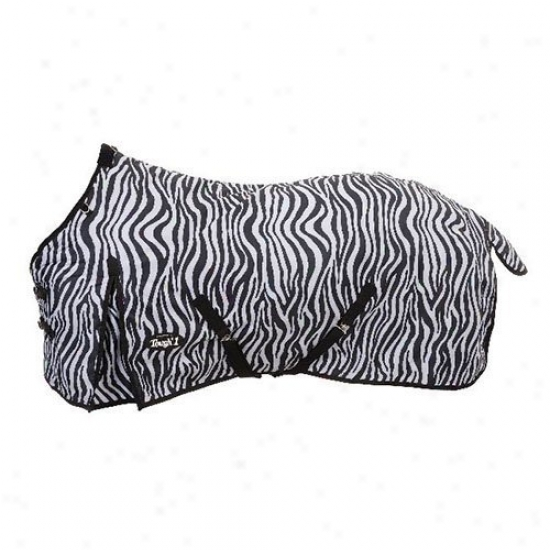 Tough1 1200d Zebra Waterproof Poly Turnout Blanket