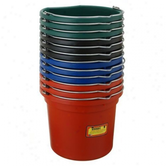 Tough-1 18 Qt. Flat Back Bucket - 12 Pack