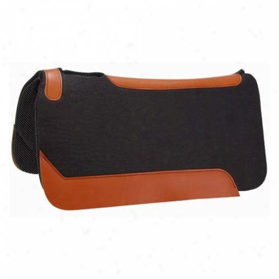 Tough-1 Expose Flow Felt Rite Pvc Shock Absofber Saddle Pad