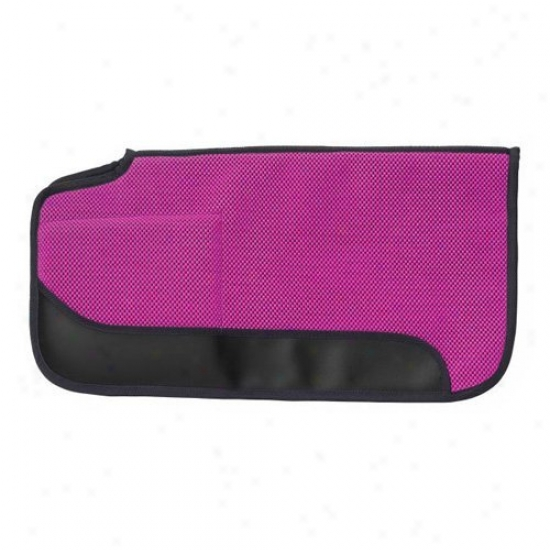 Tough-1 Air Flow Shock Absorber Pvc Built-up Saddle Pad