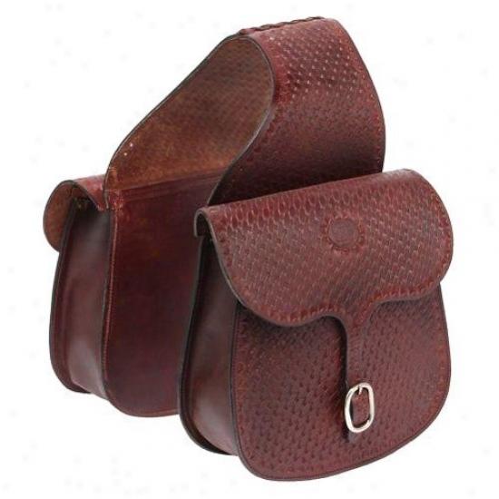 Tough-1 Basket Impress Saddle Bag