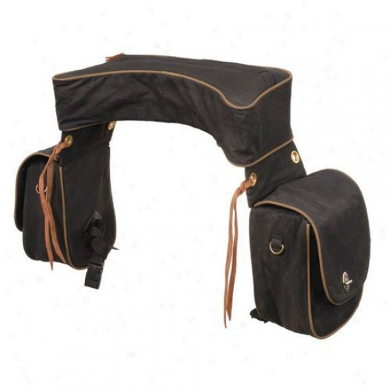 Tough-1 Deluxe Trail Saddle Bag