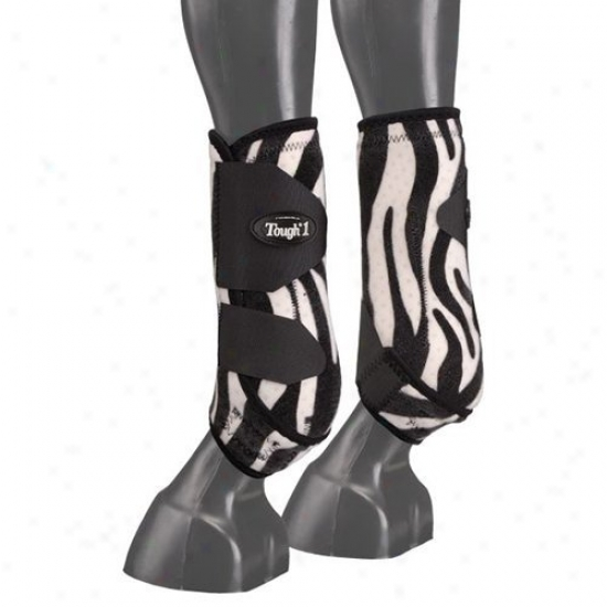 Tough-1 Extreme Fun Prints Rear Vented Exhibit Boots - Set Of 2