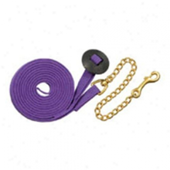 Tough-1 German Cord Lunge Line With Heavy Chain - 6 Bundle Bright