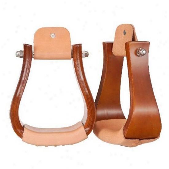Tough-1 Hardwood Bell Stirrups