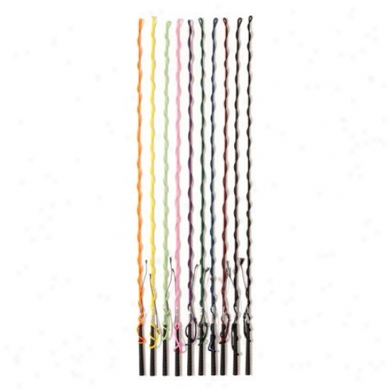 Tough-1 Nylon Lunge Whip Bright Colors - Pack Of 12