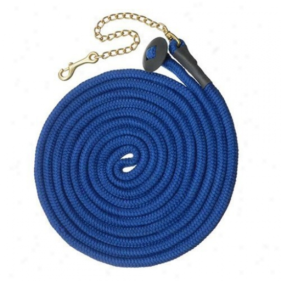 Tough-1 Rolled Cotton Lunge Line With Fetter - 6 Pack Assorted