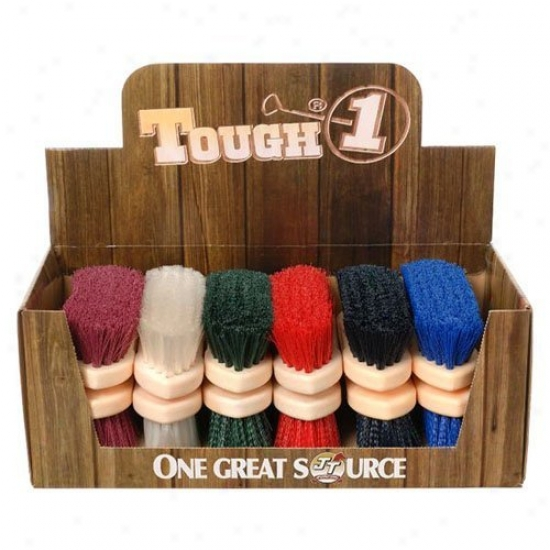 Tough-1 Soft Poly Bristle Brush - 12 Pk.