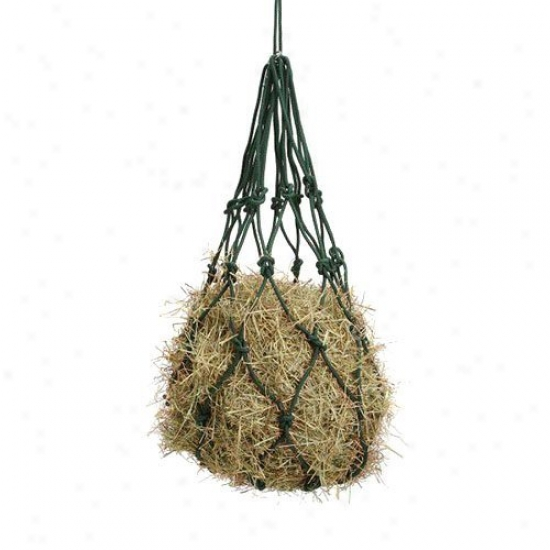 Tough-1 Solid Braided Cottob Hay Bags - 6 Burden