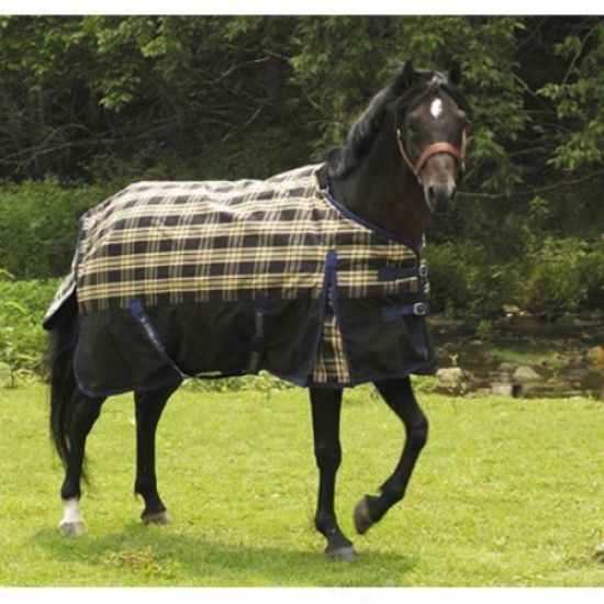 Tuffrider 600d Plaid Pony Turnout Sheet
