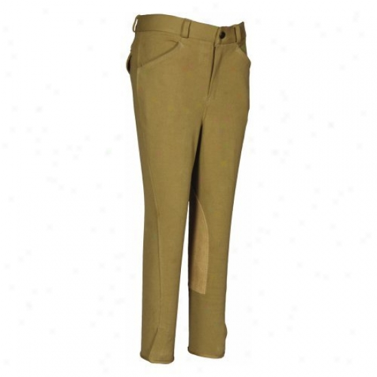 Tuffrider Boys Patrol Light Breeches