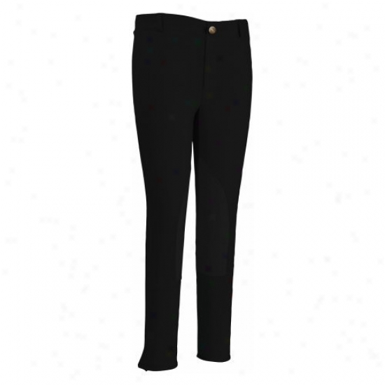 Tuffrider Childrens Cotton Lowrise Tear On Breeches
