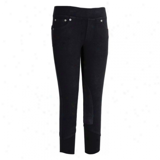 Tuffrider Childrens Newbury Pull On Jeans
