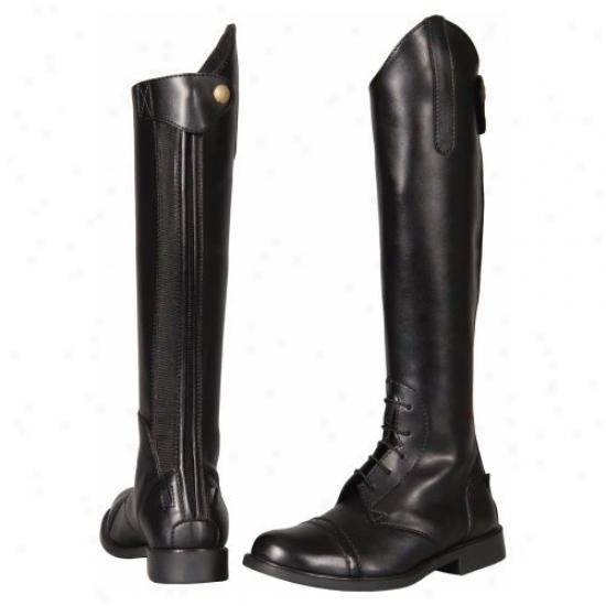 Tuffrider Childrens Starter Bacm Zip Field Boots