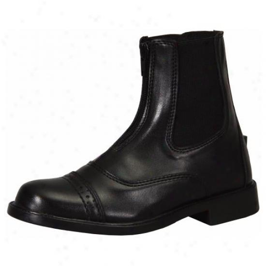 Tuffrider Childrens Starter Con~ Zip Paddock Boots