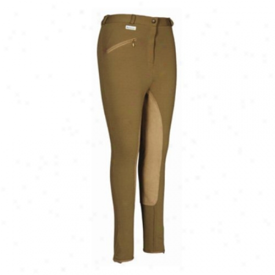 Tuffrider Ladies Aerocool Full Seat Long Breeches