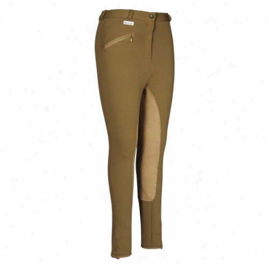 Tuffrider Ladies Aerocool Full Seat Regular Breeches