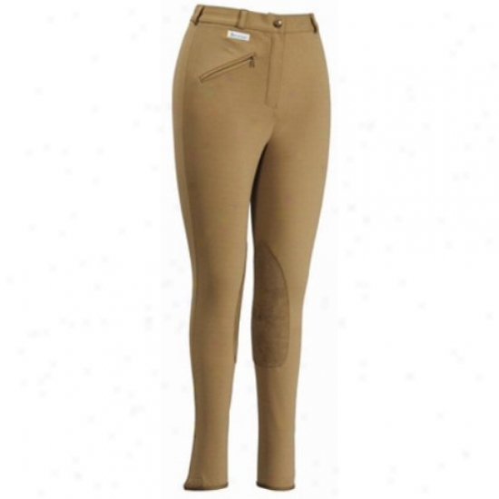 Tuffrider Ladies Aerocool Knee Patch Long Breeches