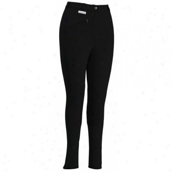 Tuffrider Ladiies Aerocool Knee Patch Regular Breeches