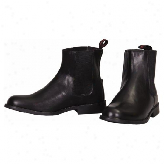 Tuffrider Ladies Belojod Pull On Elzstic Side Jodhpur Boots