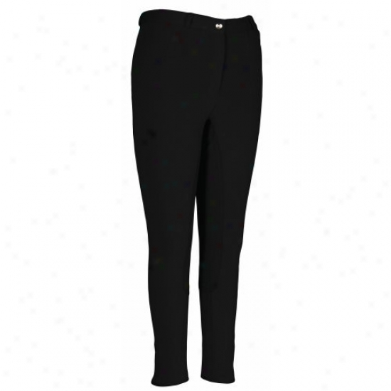 Tuffrider Ladies Cotton Figure Fit Full Seat Breeches