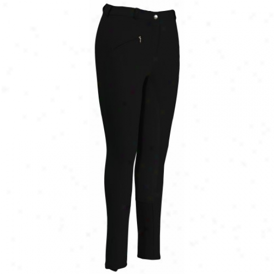 Tuffrider Ladies Cotton Full Seat Regular Breeches