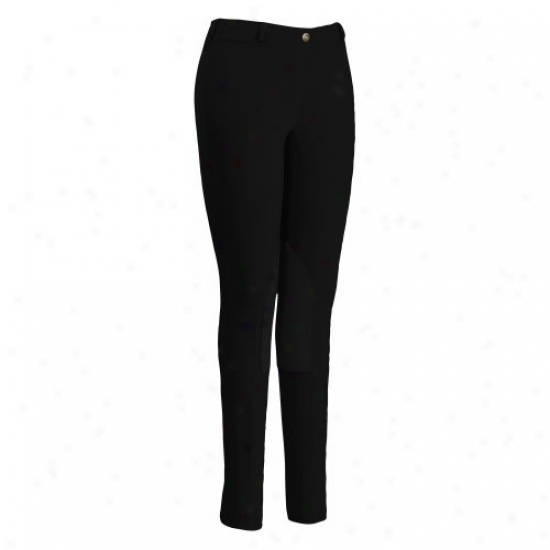 Tuffrider Ladies Cotton Lowrise Pulo On Breeches