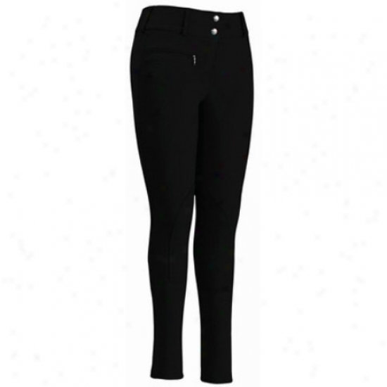Tuffrider Ladies Cotton Lowrise Wixe Waistband Long Breeches